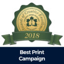 AOD 2018 Best Print Campaign