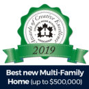 ACE 2019 Best new Multi-Family Home